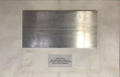 1 2 x 6 aluminum 6061 t6511