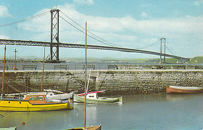The Forth Road Bridge From Harbour, SOUTH QUEENSFERRY, West Lothian