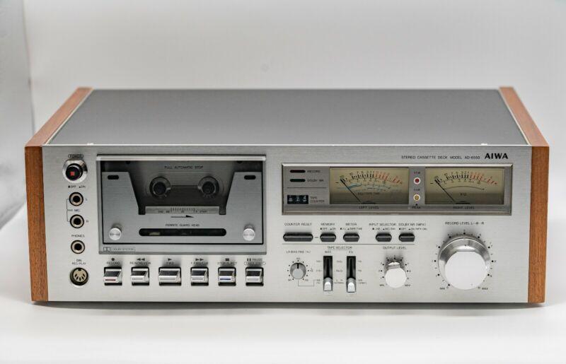 Aiwa AD-6550 Cassette Deck