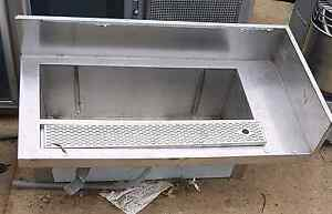 Stainless bench / beer tap sink Bringelly Camden Area Preview