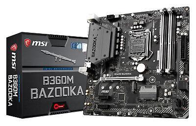 MSI B360M BAZOOKA LGA1151 Intel B360 SATAIII 6Gb/s USB3.0 Mi
