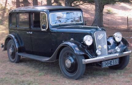 1936 Austin Hertford Saloon Special