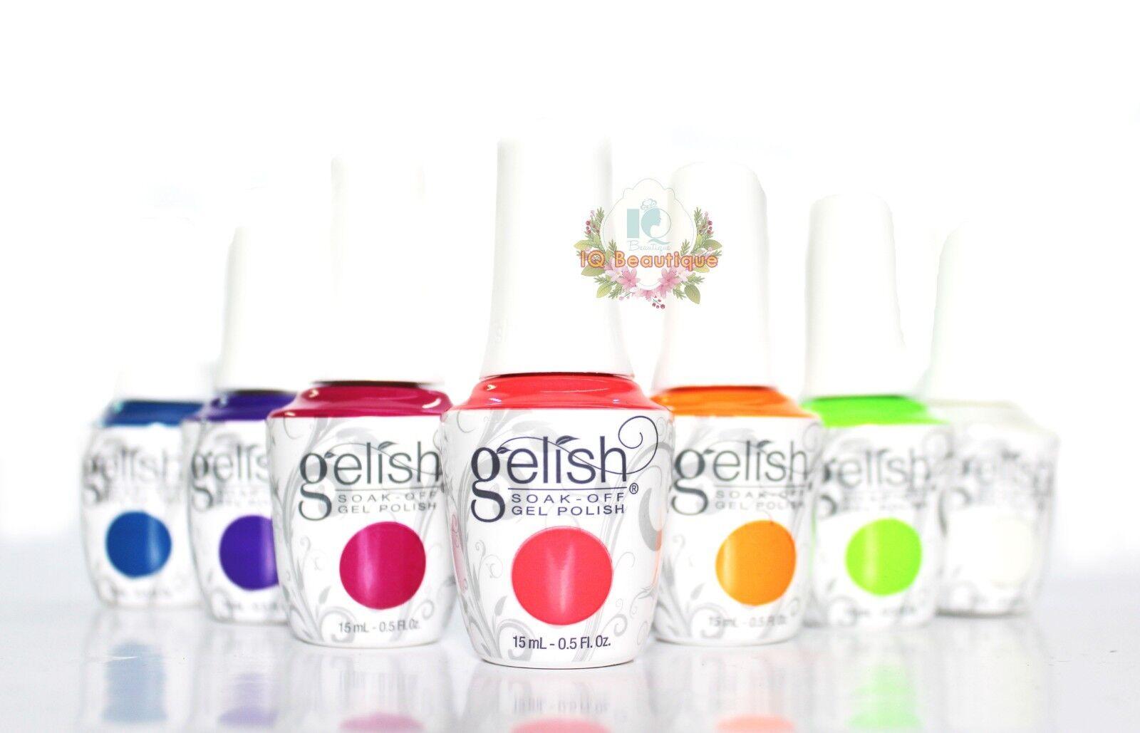 Harmony Gelish Soak-Off Gel Polish NEW BOTTLE!