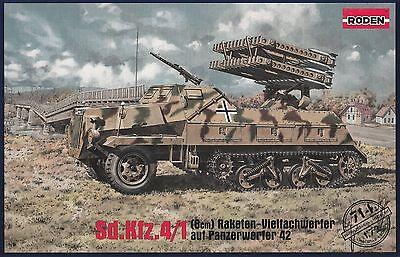 RODEN 714 1:72  Sd.Kfz.4/1 Panzerwerfer 42(8cm)