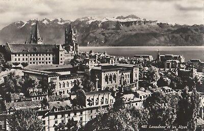 AK 485 Lausanne et les Alpes