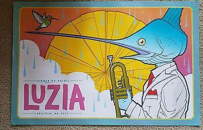 Luzia! A Waking Dream of Mexico! Cirque de Soliel Tour Poster 2017 RARE!!!