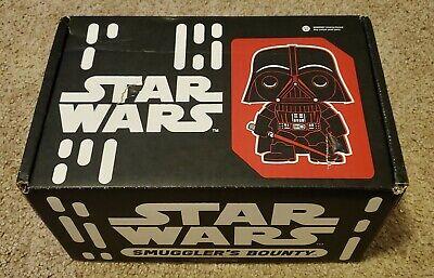 Funko Star Wars Smuggler's Bounty Box Sept 2016 Death Star w/ Vader & Tarkin Pop