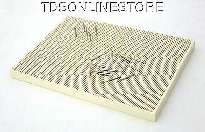 Large Sized Honeycomb Ceramic Soldering Block With Metal Pins