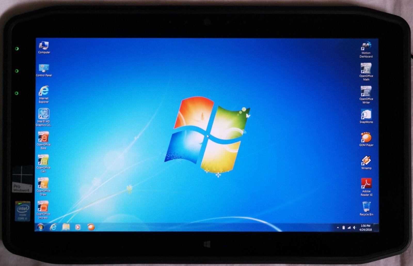 Motion Computing R12 Core i5 1.5GHz-(1.9GHz) 4gb 128gb SSD ViewAnywhere LCD