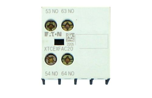 EATON Cutler-Hammer Miniature Contactor -AUXILIARY CONTACT  XTCEXFAC20