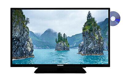 Telefunken XH32G111D 32 Zoll Fernseher mit DVD-Player HD-TV Triple-Tuner