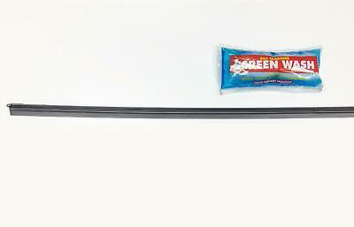 Single Slide On Rubber Refill - Replacement Of Rear Wiper Blade & Screen Wash