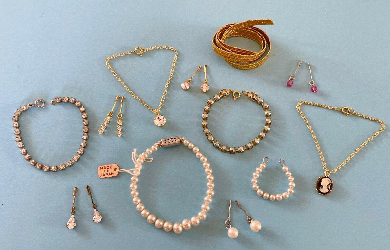 Vintage Doll Accessories Jewelry Lot Madame Alexander Cissy Miss Revlon Toni  - $50.00
