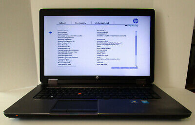 "HP ZBook 17 Mobile Workstaion i5-4300, 8 GB, 500 GB HDD, 17"" Screen"