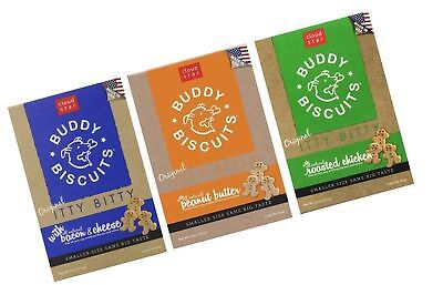 Buddy Biscuits Original Itty Bitty All Natural Treats For Dogs ... Free Shipping