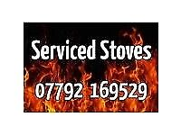 SERVICED WOODBURNERS