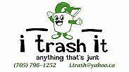 I Trash It (junk removal) 7057961252