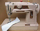 Mint Singer Slant-O-Matic 401 Industrial HD Sewing Machine,acc