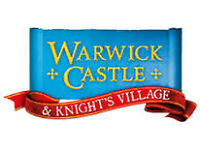 Warwick Castle - 3 Tickets Saturday 3rd September