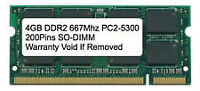 Looking for 4 GB DDR2 PC5300 Laptop Memory