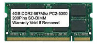 Looking for 4 GB DDR2 PC5300 Laptop Memory - 4 GB DDR3 to Trade