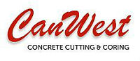 Excavation pros at CanWest concrete cutting & coring Inc.