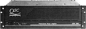 QSC 850 power ampli de puissance possibility 550 watts RMS