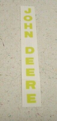Oem John Deere Decal 12 X 6 Yellow Many Uses