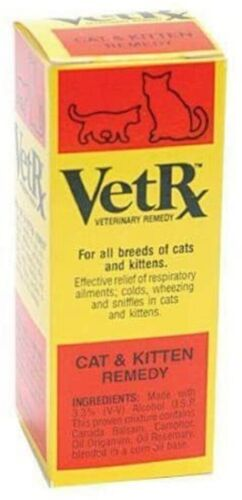 VetRx for Cat - 2 oz - Respiratory function Congestion Treatment