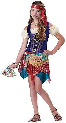 Older & Teenage Girls Gypsy Pirate Halloween Fancy Dress Costume Outfit 8-14 yrs
