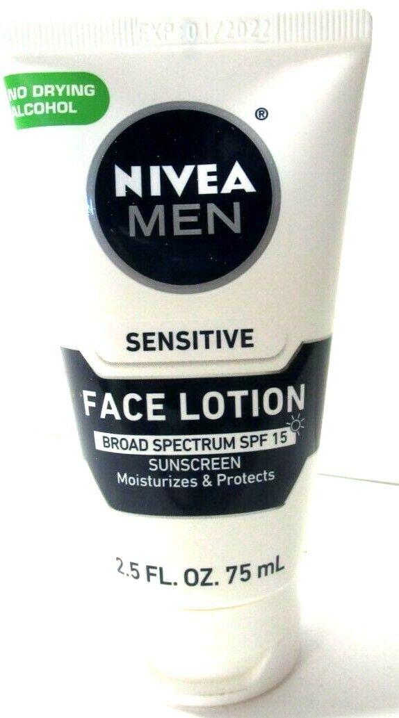 NIVEA Men Sensitive Protective Lotion 2.5 Fluid Ounce