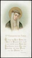 Antico Santino Cromo-holy Card S.caterina Da Siena -  - ebay.it