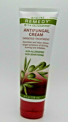 Medline Remedy Olivamine Antifungal Cream 4oz 080196753645WS