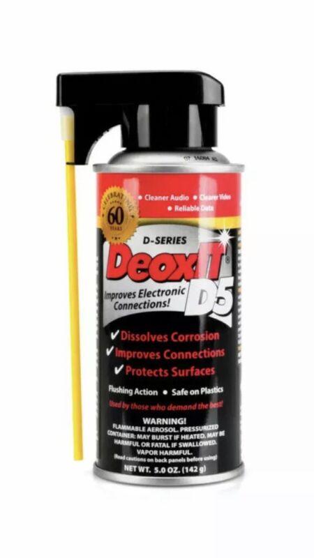 CAIG DeOxit D5S-6 Cleaning Solution Spray, 5% spray 5oz