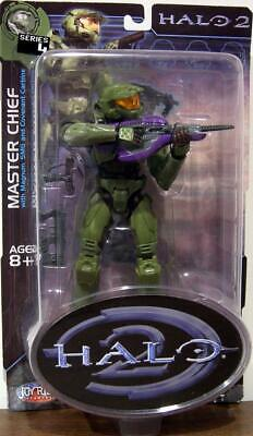 Halo Master Chief (Master Chief Figure Halo 2 Series 4 Joy Ride Studios Bungie)
