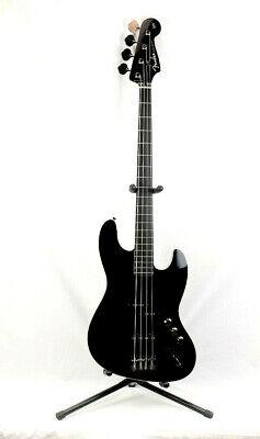 Fender Aerodyne J Bass 4-String Electric Bass Guitar-GLOSS BLACK   0254505506