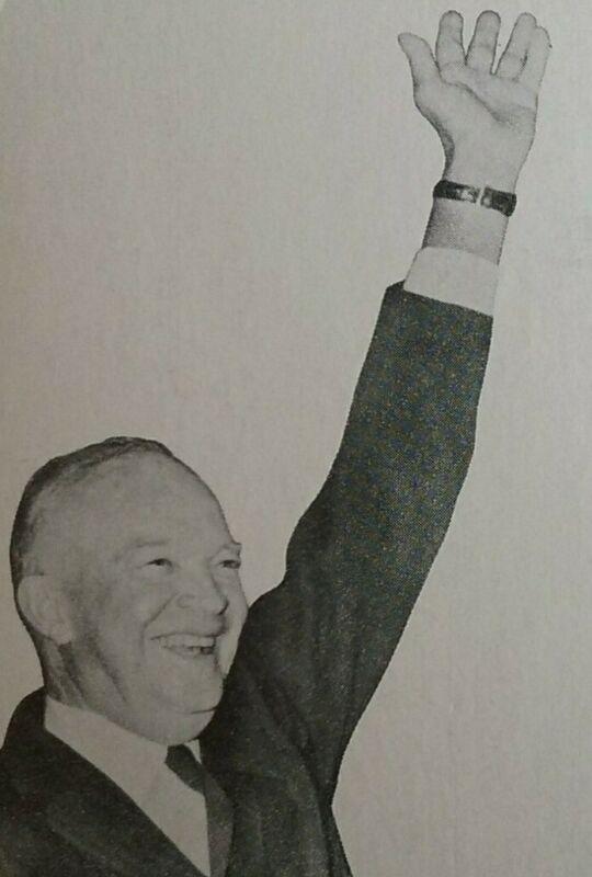 President Dwight D. Eisenhower 1956 Re-Election Campaign Political Postcards (2)