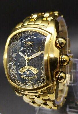 Invicta Lupah 2222 Gold-Tone Swiss Chronograph Men's Watch