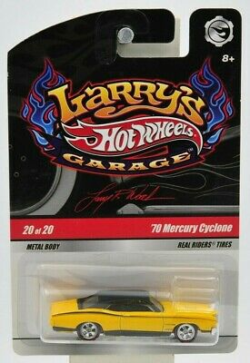 "Hot Wheels 2008 Larry's Garage '70 Mercury Cyclone (Signed) 20 of 20 ""NIP"""