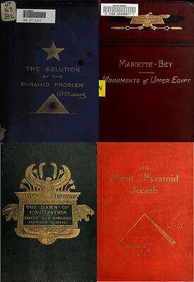 230 OLD BOOKS ON ANCIENT EGYPT & EGYPTIAN ARCHEOLOGY HISTORY PYRAMID GIZA ON DVD