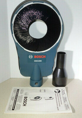 Bosch Hdc250 Sds-core Bit Drilling Dust Extraction Attachment Hammer Drill