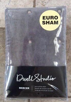 DWELL STUDIO MERCER SMOKE EURO SHAM PILLOW SHAM