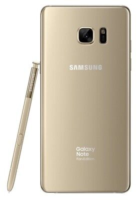 Samsung Galaxy Note Fe Sm N935f Ds Gold  Factory Unlocked  5 7  64Gb 4Gb Ram