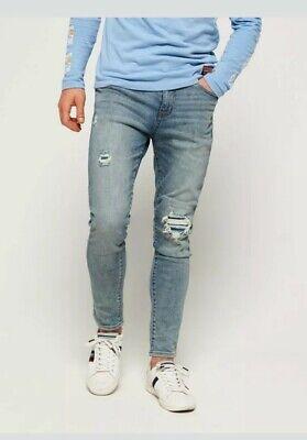 NWT Superdry Travis Skinny Jeans 33W 34L