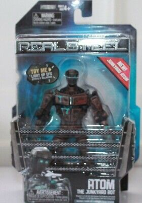 REAL STEEL ATOM  JAKKS PACIFIC MISP NEW  needs - Atom Real Steel