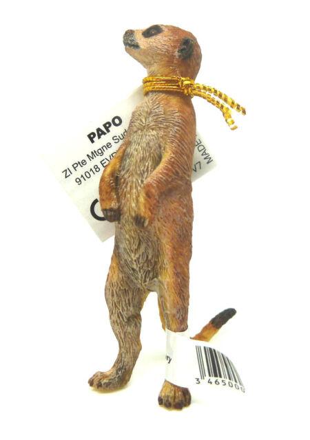 T12) Papo (50206) Erdmännchen stehend  Tierfiguren