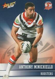 2012 NRL CHAMPION BASE CARD #164 ANTHONY MINICHIELLO SYDNEY ROOSTERS