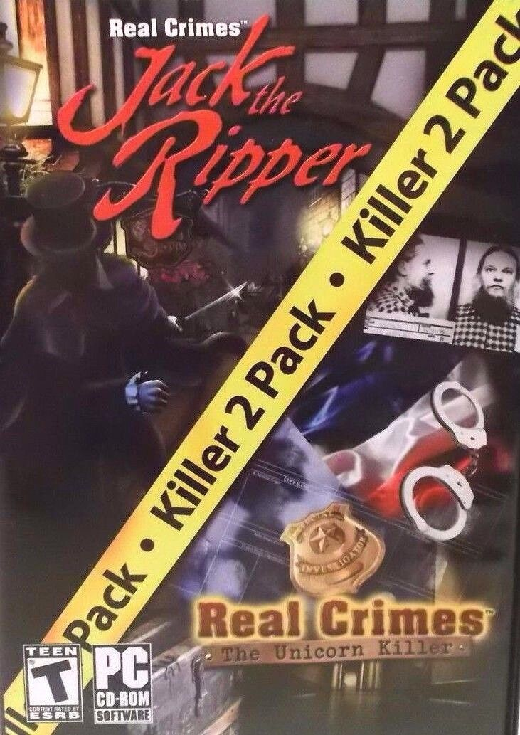 Computer Games - Real Crimes Hidden Object Two Pack PC Game Window 10 8 7 XP Computer mystery NEW