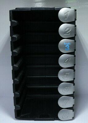 Logic 3 Aufbewahrungsbox Spiele Playstation 1 Sega Dreamcast 8 Plätze