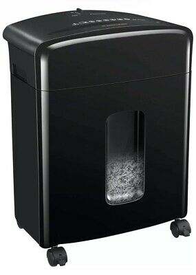 Bonsaii C220-a 12 Sheet Cross Cut Paper Cd Dvd Credit Card Shredder 3.5 Gal